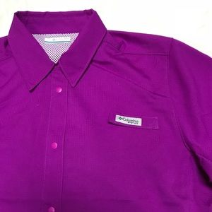 47b07f452a9 Columbia Tops | Crystal Springs Short Sleeve Shirt | Poshmark